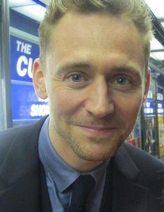 Hello. Tom Hiddleston