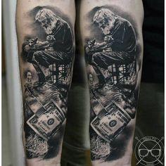 Tattoo artist: Nikola Perkovic