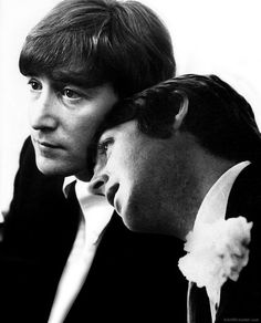 John and Paul. They really did love one another like brothers.