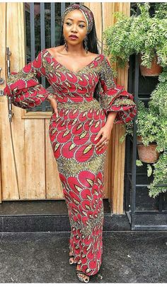 Shop this classy v-neck ankara dress in any print of your choice,100% cotton fabric . NOTE:DRESS CAN ONLY BE CUSTOM MADE THEREFORE CUSTOM MEASUREMENT IS REQUIRED MEASUREMENT REQUIRED: BUST UNDERBUST WAIST(HIGH WAIST) WAIST(PANTS WAIST) HIPS SLEEVE LENGHT(shoulder to wrist) DRESS