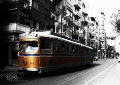 Yellow Tram - #Alexandria #Egypt