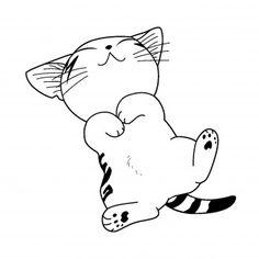 Patron tetes chats pinteres - Comment dessiner un chat trop mignon ...
