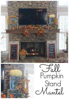 Fall Pumpkin Stand M