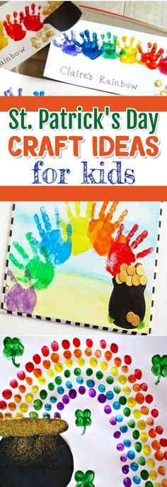 St Patrick's Day Crafts for Kids - Fun and easy St patricks Day craft ideas for toddlers, preschool, kindergarten, pre-k, Sunday school, classroom and home #stpatricksdaycrafts #craftsforkids #stpatricksdaycraftideas #stpatricksday #stpaddysday #stpatricks #easycraftsforkids #preschoolcraftideas #toddleractivities #preschoolcraftideas #homeschoolingideasfortoddlers