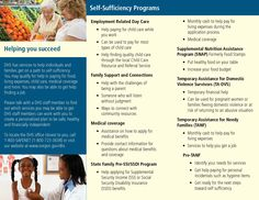 Helping you be safe, healthy and independent : self-sufficiency programs, by the Oregon Department of Human Services, Children, Adults and Families