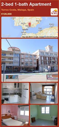 2-bed 1-bath Apartment in Torrox Costa, Malaga, Spain ►€126,000 #PropertyForSaleInSpain