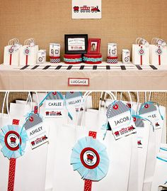 Adorable Train Themed Birthday Party