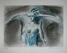 The Fifth Element: 40 Original Concept Art Gallery - Daily Art, Movie Art Classic Sci Fi Movies, Conceptual Sketches, Concept Art Gallery, Fifth Element, Sci Fi Art, French Artists, Creature Design, Comic Artist, Illustrators