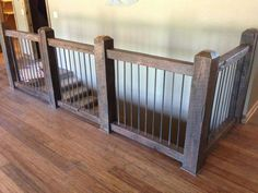 stairs railing open staircase ideas -Farmhouse stairs railing open staircase ideas - Reclaimed wood banisters with reclaimed steel rerod balusters Craftsman Farmhouse House Plan 50257 Ana White Staircase Railings, Staircase Design, Banisters, Rebar Railing, Stair Handrail, Spiral Staircases, Stairway Railing Ideas, Banister Rails, Staircase Diy