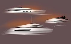 Yacht Sketches on Behance
