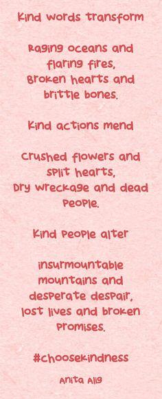 #choosekindness Broken Promises, Kinds Of People, Kind Words, Rage, Crushes, Poems, Nice Words, Poetry, A Poem