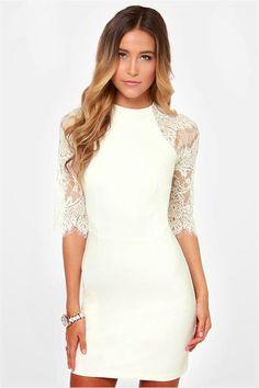 Modernos vestidos de fiesta con encaje   Moda y Tendencias
