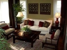 Asian Living Room Decor | Asian Living Room Design, Pictures, Remodel, ... | Home | Living Spac ...
