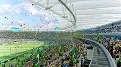 2014 World Cup Final Stage Stadium / Fernandes Arquitetos Associados