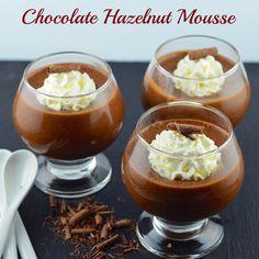 May I Have That Recipe | Chocolate Hazelnut Mousse | http://mayihavethatrecipe.com