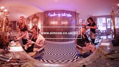 Simcoemedia has been creating some 3D 360 video experiences. These can be seen in various formats eg anaglyph, Samsung Gear VR, Daydream or HTC Hive.