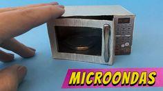 Como fazer um Microondas para Barbie e outras bonecas!