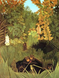 Joyeux farçeurs, 1906 - Henri Rousseau