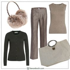 #Grey & #Olive #Look by Brigitte von Boch #bevonboch