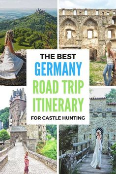 The Best German Road Trip Itinerary for Castle Hunting in Germany! Click the pin to read the post from www.flirtingwiththeglobe.com