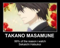 YES. I love him! ❤ (Sekai-ichi Hatsukoi)