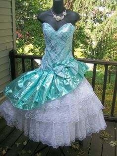 80s prom theme dresses for wedding