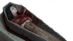 vampire in coffin