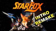 STAR FOX (INTRO REMAKE) 1080p