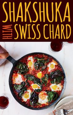 Shakshuka with Swiss Chard. 27 Quick And Cozy Fall Dinners.