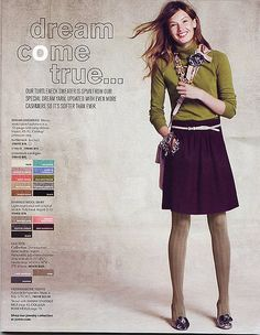 J.Crew Fall 2009 - my favorite year/season of JCrew. I wanted just about everything in the Oct catalogue......