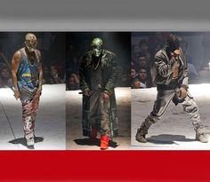 Maison Martin Margiela outfit Kanye West for Yeezus tour