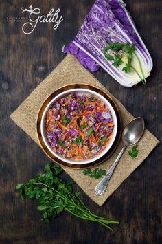 Salatka z kapusty pekinskiej Ramen, Baking, Ethnic Recipes, Fitness, Food, Life, Bakken, Essen, Meals