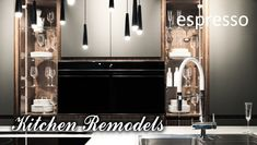 kitchen remodel is a big deal—not something to be approached. So before you even visit a showroom or meet with a pro, visit espresso design.