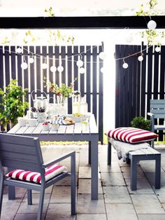 Vertical blinds for a patio-who knew?
