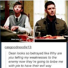 Haha Dean Winchester