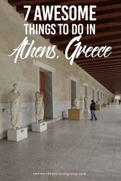 7 Awesome Things to Do in Athens, Greece The birthplace of democracy, the capital of Greece, Athens captures the heart of its visitors. Its architecture has been marked by Roman, Byzantine, and Ottoman civilizations, which accompany the classic Greek style. #greecetravel