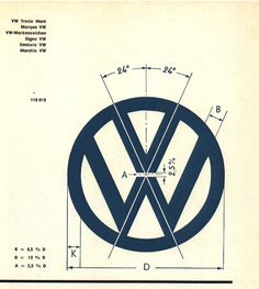 Volkswagen logo - SOLIDWORKS - 3D CAD model - GrabCAD