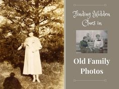 Are family history clues hidden in your old family photos? Learn how to examine those photos for interesting details about your ancestors. Mixed Media Photography, Creative Photography, Old Family Photos, Old Photos, Find Your Ancestors, Photo Work, Photography For Beginners, Just Friends, Family History