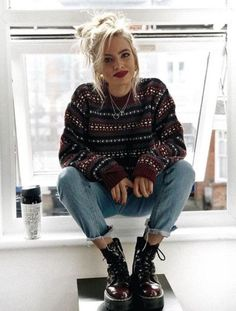 summer grunge outfits style Source by schwenjah with doc martens Uni Outfits, Best Casual Outfits, Tumblr Outfits, Edgy Outfits, Mode Outfits, Fashion Outfits, Outfits Date, Cute Grunge Outfits, Hipster Girl Outfits