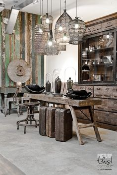 Vintage and rustic design details # inscapes design