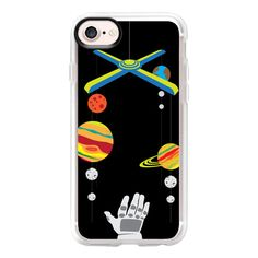 Space mobile - iPhone 7 Case And Cover ($40) ❤ liked on Polyvore featuring accessories, tech accessories, phone cases, iphone case, iphone cases, iphone cover case, apple iphone case and clear iphone case