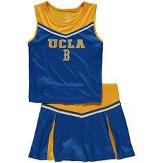 UCLA Bruins Colosseum Girls Youth Aerial Cheer Set - Light Blue - $34.99