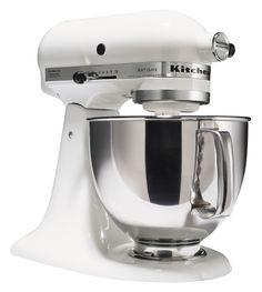 White Kitchen Aid
