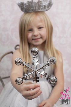 Snow Queen Children's and Family Photography Wichita, Kansas