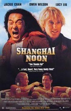 Shanghai Noon Movie Poster 27x40 Used MCP0022 Lucy Liu, Jackie Chan, Owen Wilson #OwenWilson
