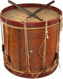 Civil War, Regulation Civil War Drum and Drumsticks
