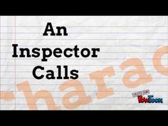 Today's post focuses on revision of An Inspector Calls. I've created three videos which can be used to support this text. Each can be used as a simple starter activity, prompts for discussion or as a quick homework activity. An Inspector Calls Revision, Gcse English Literature, Gcse Revision, Study Tips, Classroom Management, Homework, Prompts, Quotations, Characters