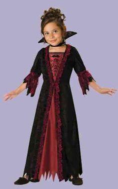 Girl Vampire Costume - Child Vampira Costume