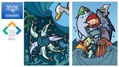 L'OCEANOGRAFIC   Ilustración publicitaria – Lagruaestudio