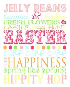 Another Easter printable